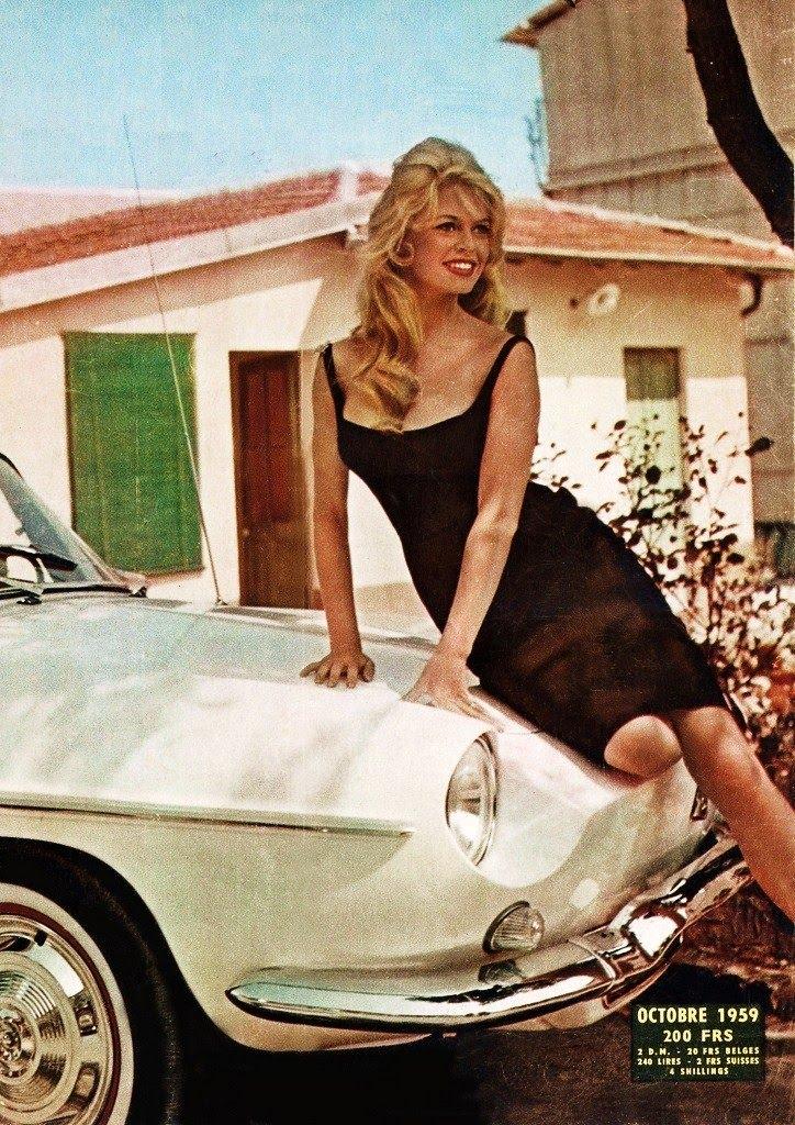 Renault Floride Brigitte Bardot Favorit Triskelion